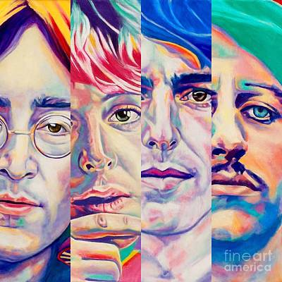 Painting - Fab Four by Rebecca Glaze