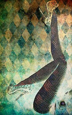 Digital Art - Fab U Legs by Greg Sharpe