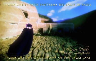 Photograph - Fabbriche Di Vagli Paese Fantasma Ghost Town 3 by Enrico Pelos