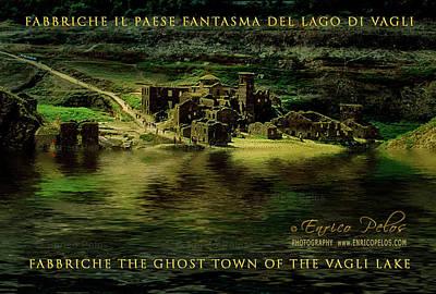 Photograph - Fabbriche Di Vagli Paese Fantasma Ghost Town 6 by Enrico Pelos