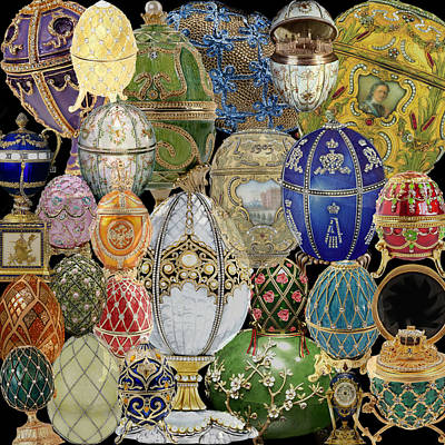 Photograph - Faberge Eggs by Andrew Fare