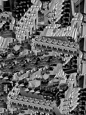 Digital Art - Fabric Cities by Nancy Kane Chapman