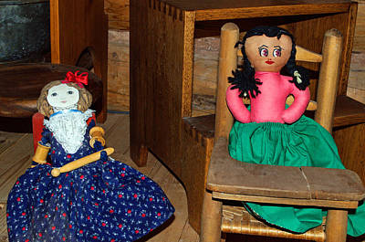 Photograph - Fabric Dolls by Tikvah's Hope