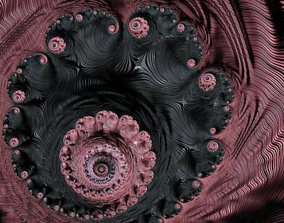 Digital Art - Fabric Of Life by Georgiana Romanovna