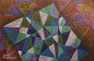Drawing - Fabric Of Reality by Vincent Matheney
