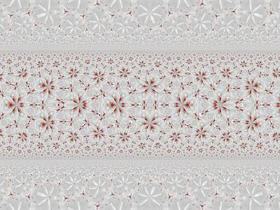 Fabric Mixed Media - Fabric Pattern by Nancy Pauling