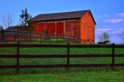 Photograph - Fabulous Farm by Frozen in Time Fine Art Photography