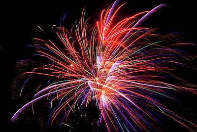 Photograph - Fabulous Fireworks by Toni Hopper