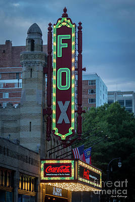 Photograph - Fabulous Fox The Fox Theater On Peachtree Street Atlanta Georgia Art by Reid Callaway