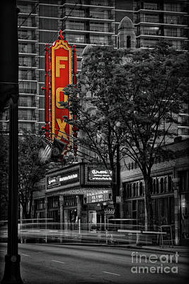 Fabulous Fox Theater Art Print