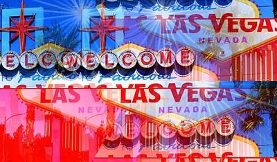 Photograph - Fabulous Las Vegas by Dietmar Scherf