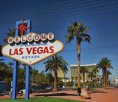 Photograph - Fabulous Las Vegas by Paulette B Wright
