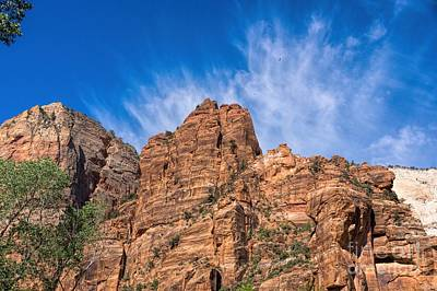 Photograph - Fabulous Morning In Zion by Peggy Hughes