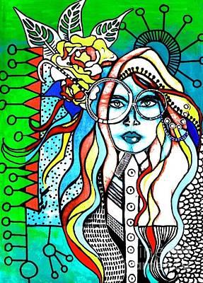 Fabulous Nerd Original by Amy Sorrell