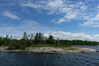 Photograph - Fabulous Northern Summer - Georgian Bay Island Landscape by Georgia Mizuleva