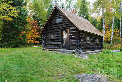 Photograph - Fabyan Guard Station - Carroll New Hampshire by Erin Paul Donovan