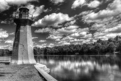 Fabyan Lighthouse On The Fox River Art Print
