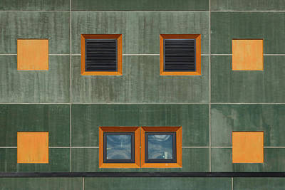 Photograph - Facade #1 by Michael Niessen