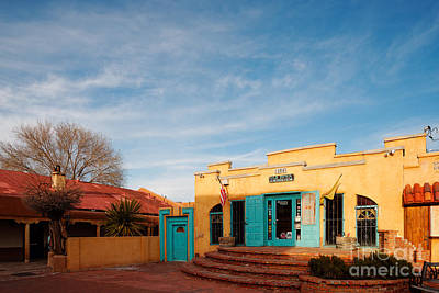 Luminaria Photograph - Facade Of A Souvenir Store At Old Town Albuquerque - New Mexico by Silvio Ligutti
