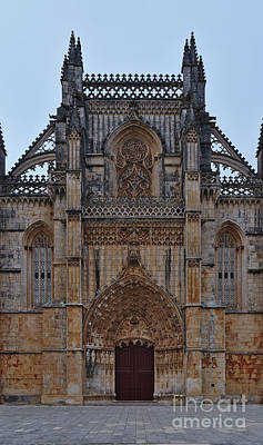 Photograph - Facade Of Batalha Monastery. Portugal by Angelo DeVal