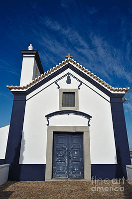 Christianity Photograph - Facade Of Church Of St. Anthony In Portugal by Angelo DeVal