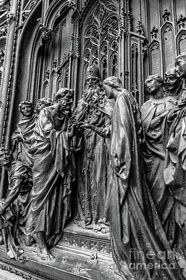 Photograph - Facade Of The Duomo, Milan, Italy by Global Light Photography - Nicole Leffer