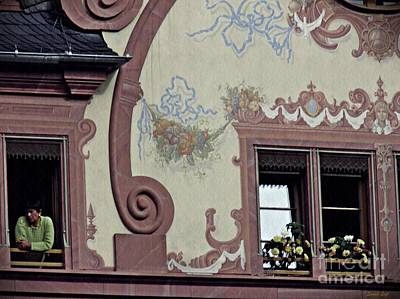 Photograph - Facade On The Mainz Town Square by Sarah Loft
