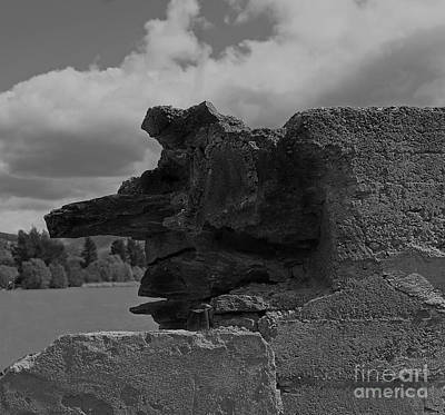 Photograph - The Old Man In A Rock by Nareeta Martin