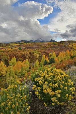 Photograph - Face In The Clouds Over Dallas Divide by Ray Mathis