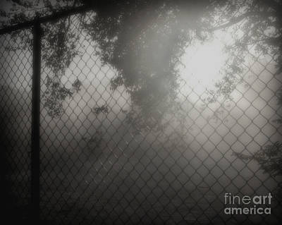 Photograph - Face In The Fog by Kathy M Krause