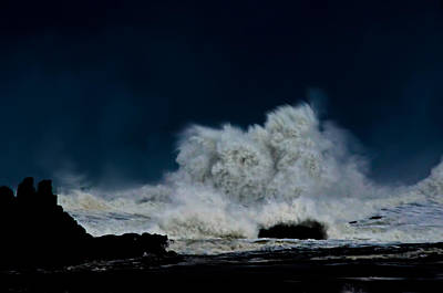 Photograph - Face In The Storm by Adria Trail