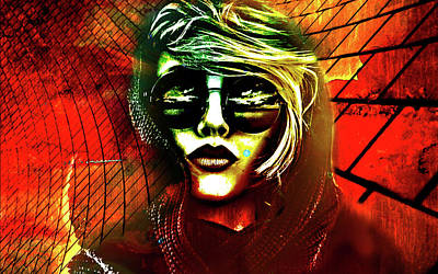 Digital Art - Face It by Greg Sharpe