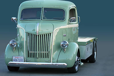 Photograph - Face O Ford Coe by Bill Dutting
