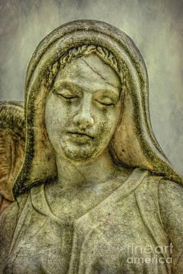 Graveyard Digital Art - Face Of An Angel by Randy Steele