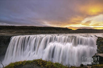 Photograph - Face Of Dettifoss  by Michael Ver Sprill
