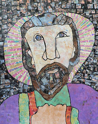 Carol Cole Painting - Face Of Jesus 1 by Carol Cole