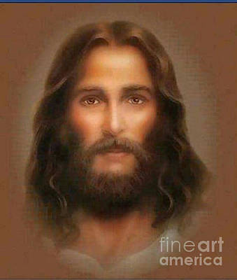 Photograph - Face Of Jesus Christ by Doug Norkum