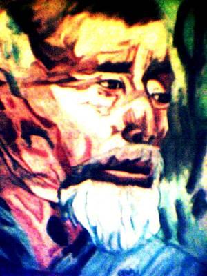 Face Of Strength  Art Print by Jo-Ann Hayden