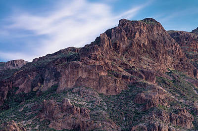 Photograph - Face Of Superstitions 1 by Greg Nyquist