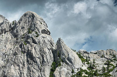 Photograph - Face Of The Crags by Greg Nyquist