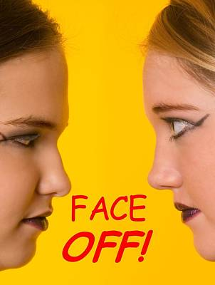Photograph - Face Off Friends by Bob Pardue