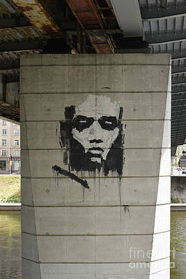 Photograph - Bridge Support by Oleg Konin