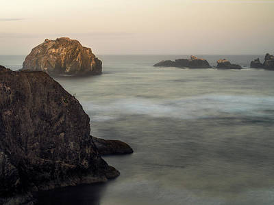 Photograph - Face Rock Sunrise by Jay Moore