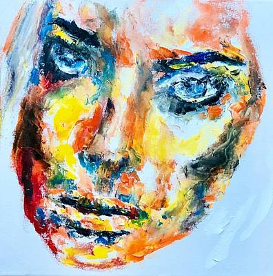 Painting - Face Study 2 by Jennifer Morrison Godshalk