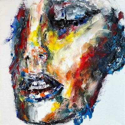 Painting - Face Study by Jennifer Godshalk