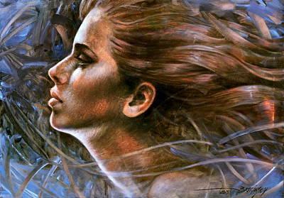 Wall Art - Painting -  Face Time by Arthur Braginsky