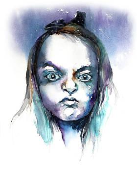 Face#8 Art Print by Rafal Wnek