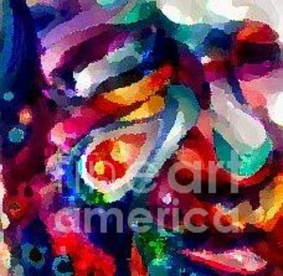 Photograph - Faced Again 1 by Catherine Lott