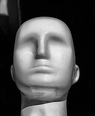 Photograph - Faceless Mannequin Head by Robert Ullmann