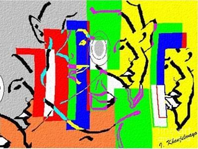Digital Art - Facelift Phases by Isaac Khonjelwayo